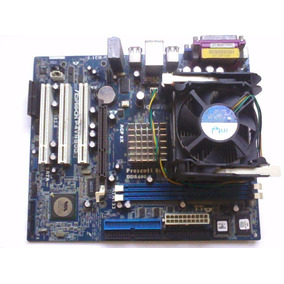 Tarjeta Madre Prescott 800 Ddr 400 + Procesador
