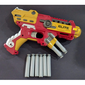 Arma Pistola Pressão Vingadores + 10 Dardos Grande Unidade
