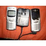 2 Celular Motorola Tim Antigo Como Garregador Peças