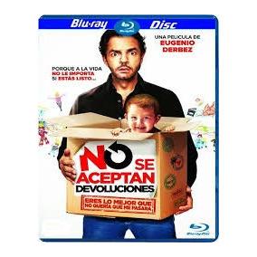 Blu Ray No Se Aceptan Devoluciones Eugenio Derbez Original