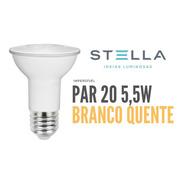 Lampada Par 20 Stella 5,5w 3000k Branco Quente - Sth9020/27
