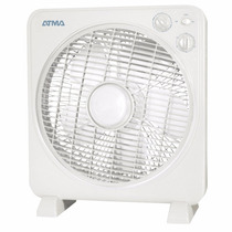Ventilador Turbo Atma 12 55w Vta1215b Color Blanco