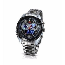 Relógio De Luxo Tvg Seals Elite Masculino Led Frete Grátis