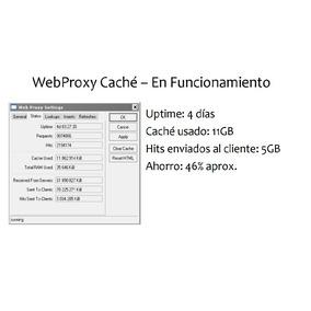 Servidor Cache Web-proxy Mikrotik Para Pc X86