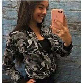 Jaqueta Bomber Militar Camuflada Moda Instagram Inverno 2017