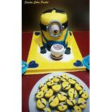Torta Minions, Mi Villano Favorito, Stuart, Etc.
