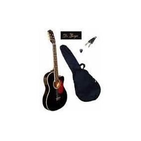 Violão Elétrico Digiorgio Havana Black Flat Slim - Hendrix