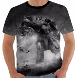 Camiseta Pacific Rim - Círculo De Fogo - Yeager - Kaiju Pb