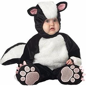 Disfraz De Zorrillo Bebes Halloween Animales Niñas Niños