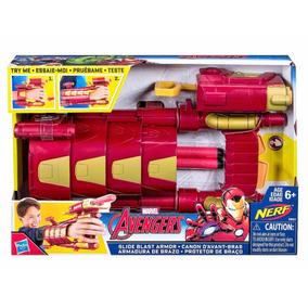 Nerf Marvel Armadura De Brazo Jugueteria Bunny Toys
