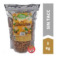 Almendras Peladas X 3 Kg - Libre De Gluten Sin Tacc