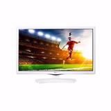 Tv Monitor 24 Led Lg 24mt49df-ws Bivot Vga Usb Hdmi C/nf