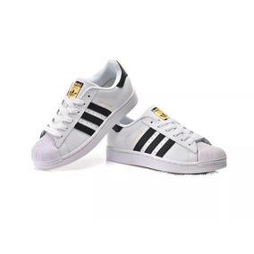 san francisco f840e a4db4 adidas Superstar Tenis Zapatillas Mujer Y Hombre Importados