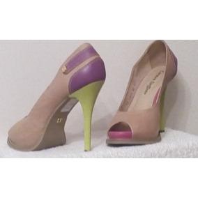 Zapatos Carmen Steffens Originales, De Cuero, Sensuales!!!!
