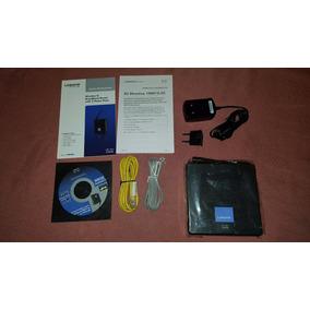 Router Voip Wireless Cisco Wrp400 Con Entrada Para Modem 3g