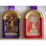 Escapularios Virgen De Coromoto Y Jesús Nazareno (dobles)