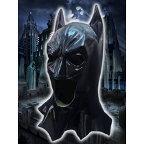 Mascara Latex Batman Cosplay Disfraz Halloween Original