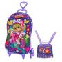 Mochilete Infantil 3d Penelope Charminho + Lancheira