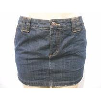 Mini Saia Jeans Curta Damyller Tam 38 Usado Bom Estado