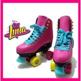 Patines Tipo Soy Luna Clasicos Marca Roller Colores E.gratis