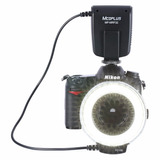 Flash Led Kit De Iluminación Para Cámara Fotográfica 4 En 1