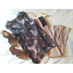 Blusa Camisa Dama Esprit De Chifón. Bellísima