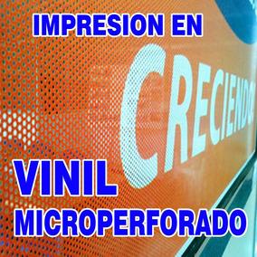 Vinil Microperforado Para Ventanas , Cancel O Puertas