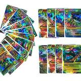 Lote 50 Cartas Pokemon Flash Full Art Holo Mega Ex Gx