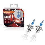 Lampada Osram Night Breaker Laser H4 Par Farol 130%+ Luz