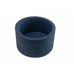 Vaso Xaxim Ecológico De Pneu 23x13cm Cor Azul