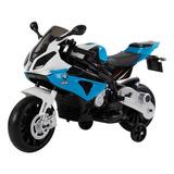 Juguete Biemme 7009 Bmw Moto Cycle Azul