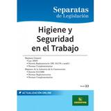 Separatas Higiene Y Seguridad Social En El Trabajo - Errepar