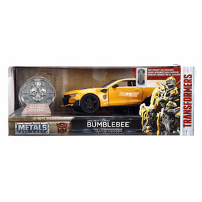 Transformers 1/24 Bumblebe Crooshair Barricad Coin Lyly Toys
