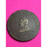 Moneda Revolución 20 Centavos Oaxaca 1915 Cobre Envió Gratis