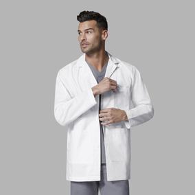 Delantal Clínico Medico Hombre Wonderwink 7102 Blanco Oferta