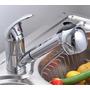 Canilla Griferia Monocomando Cocina C/duchador Pico Extensib