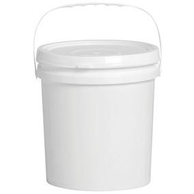 Balde Plastico 5 L Atóxico Com Tampa Lacre - 01 Peça