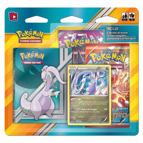 Pokemon Mini Álbum Goodra - C/ 2 Boosters 1 Card