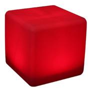 Puff Led - Cubo 43 Iluminado - Frete Gratis - Sem Fio.