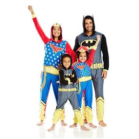 Mameluco Pijama Disfraz Batman Para Niños Original