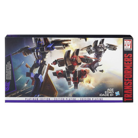 Transformers Seeker Squadron Platinum Edition Hasbro Novo