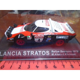 Ixo Altaya 1/43 Lancia Stratos Rally San Remo 1978