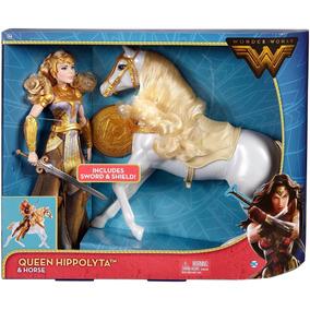 Barbie Queen Hippolyta Wonder Woman Cavalo Filme 2017