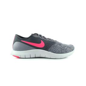 Tenis Nike Flex Contact - Gris Con Rosa 908995-005