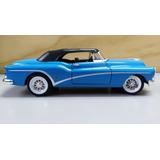 Buick Skylark 1953 Azul Escala 1/24, 20cms.de Largo Metalico