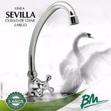Griferia Fregadero Cuello Cisne Sevilla Bm