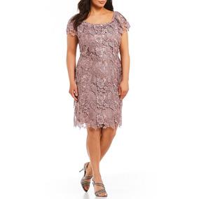 Vestido Midi Renda Guipir Plus Size Festa Noiva Madrinha