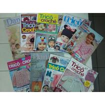 Kit Revistas Tricô Crochê Bebê Com 9 Exemplares