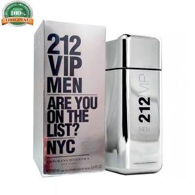 Perfume Masculino 212 Vip Men Original 100ml Ad8017