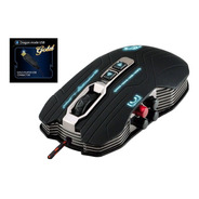 Mouse Gamer Com Sistema Exclusivo  Vibrar  + Mouse Pad